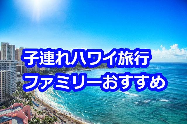 ハワイ旅行の子連れでの楽しみ方☆初めてでも大丈夫!
