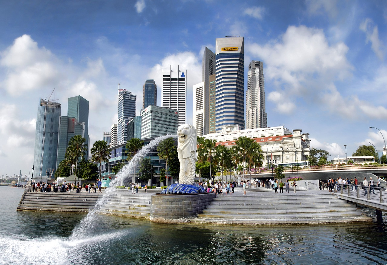 シンガポールのマーライオンで放水するのはコレ!