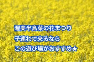 愛知県菜の花子供連れスポットは伊良湖岬